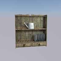 cupboard kitchen 3d model