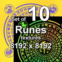 Runes 10x Textures
