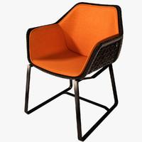 max kettal maia armchair chairs