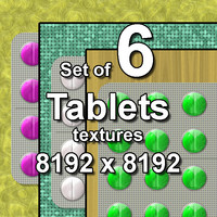 Tablets 6x Textures