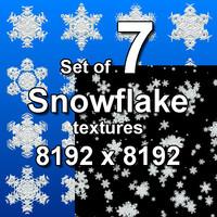 Snowflake 7x Textures