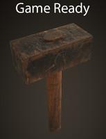 old hammer 3d fbx