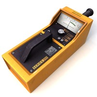 geiger counter 3d model