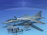3d mig-27 flogger india model