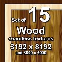 Wood 15x Seamless Textures
