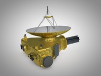 3d model new horizons space probe