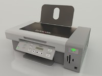 3d model lexmark all-in-one printer