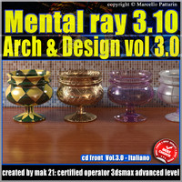 Mental Ray 3.10 3dsmax 2013 Vol.3 Arch e Design_cd front