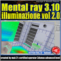 Mental Ray 3.10 In 3dsmax 2013 Vol.2  Luce e Rendering _cd front