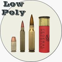 maya 1 bullets polys