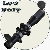 optical scope 3d model