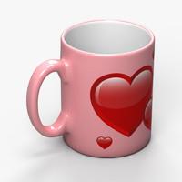 ceramic mug obj