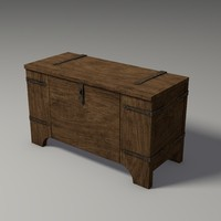3d physics enabled chest model