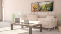 3d max room interior scene