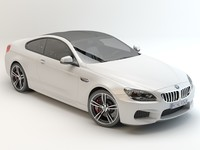 car bmw m6 coupe 3d max