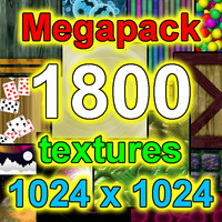 Medium-Resolution 1800x Texture Megapack