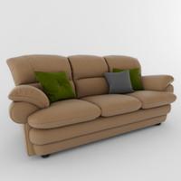 3d sofa komfort