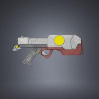 3d max laser gun