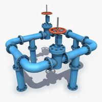 model valve