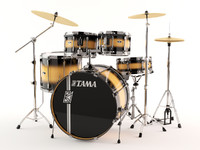 3d tama superstars acoustic drums model
