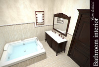 3d model bath cotto boticini