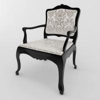 3d chair classik 01
