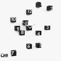 wall clock rnd time dwg