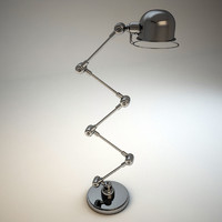 3d metal floor lamp