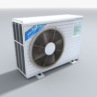 air conditioning unit obj
