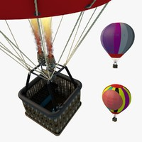 cinema4d hot air balloon