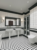 bath bathroom interior 3d max