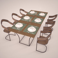 modern table set max