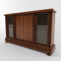 3ds max chest antique classic