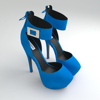 steve madden shoes 3d model