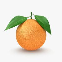 orange 2 3d max