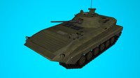 3d model armored infantry vehicle
