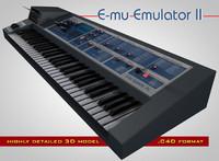 3d e-mu emulator ii
