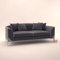 3d model alexandra design sofa regina