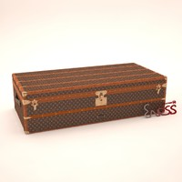 3d steamer trunk louis-vuitton