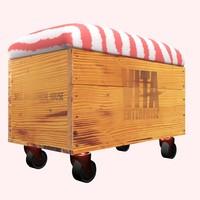 storage bench 3d max