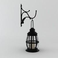 3ds max wallmount lantern