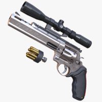 raging bull casull scope 3d model