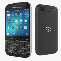 3ds max blackberry classic smartphone black