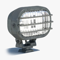 floodlight lamp lighting 3d obj