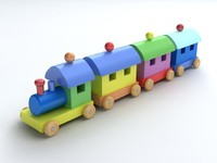 max wooden toy train