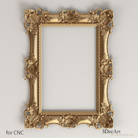 decorative frames obj
