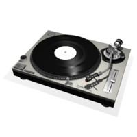 obj turntable vinyl record