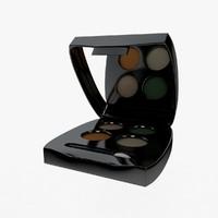 3d model makeup kit