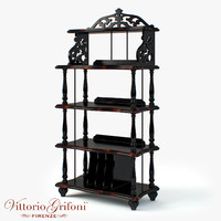 bookcase vittorio grifoni - 3ds