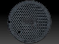 maya scan manhole cover